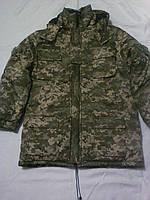 Бушлат Пиксель,ВСУ.Зимняя,теплая куртка для охоты,рыбалки.