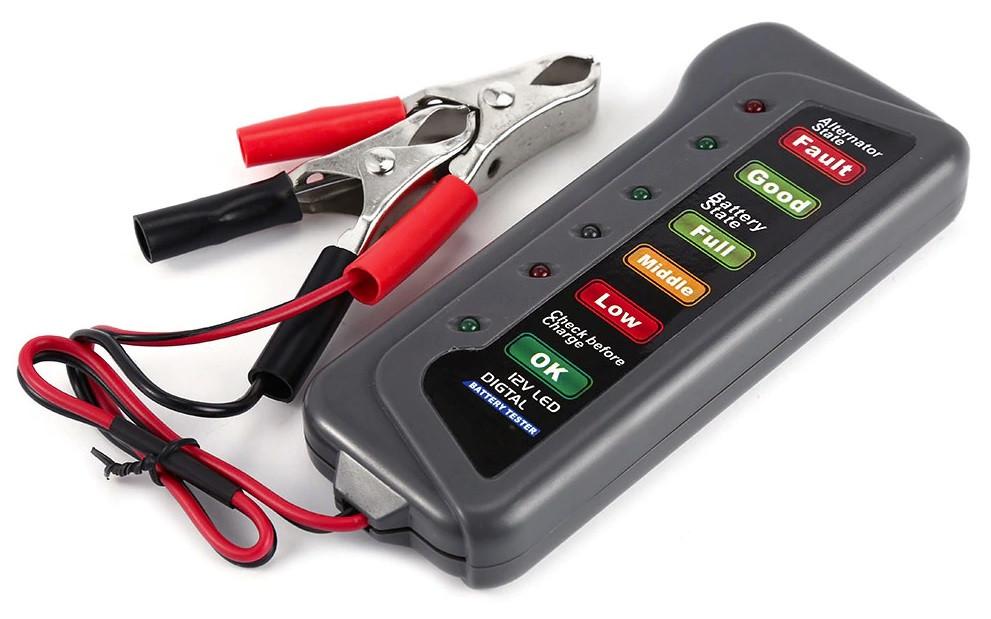 T16897 тестер автомобильного аккумулятора, тестер генератора 12В