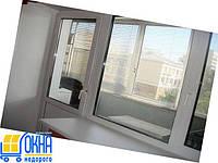 Откосы из гипсокартона на трехстворчатые окна
