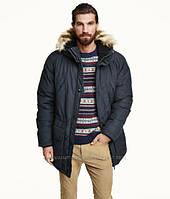Мужская зимняя куртка парка H&M LOGG