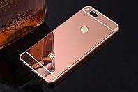 Металлический зеркальный чехол бампер для Xiaomi Mi A1 (4 цвета) , фото 1