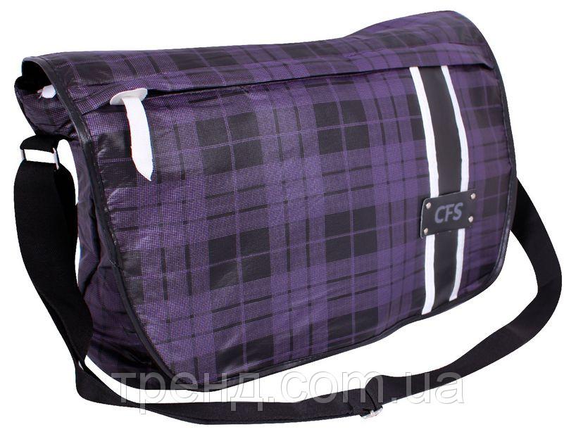 06a4e18e17d9 Школьная сумка через плечо СFC в клетку - Подарункова майстерня Compliment  в Днепре