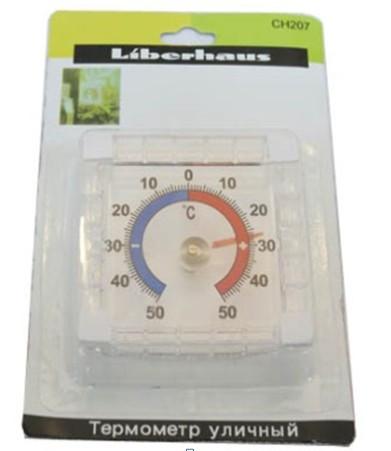Термометр уличный биметалл на липучках #100403
