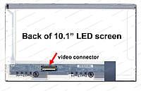 "10.1"" WSVGA 1024x600, IVO M101NWT2 R1/R3, TFT, LED, 40-pin (левый разьем), глянцевая"