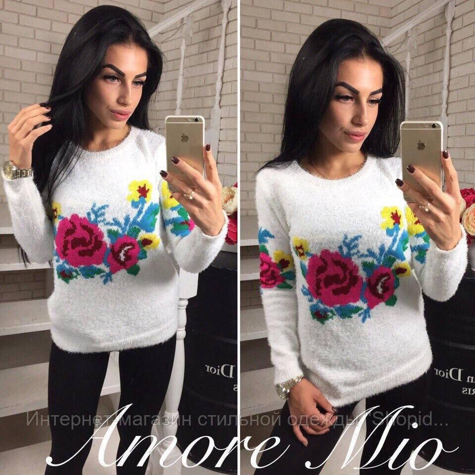 02ecf7ec46c Женский модный теплый свитер (2 цвета)  продажа