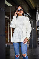 Вязанный женский свитер , фото 1