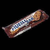 Батончики со вкусом шоколада MUESLI BAR  50г