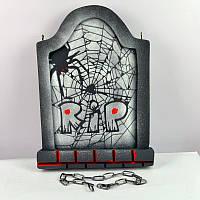 Надгробная плита с пауками 081017-053