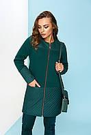 Женский зеленый кардиган Рима Трехнитка Arizzo 44-52 размеры