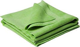 40535 Набор полотенец микрофибровых без кромки, зеленый - Flexipads POLISHING WONDER, 2 шт.