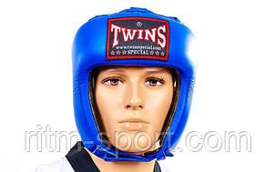Шлем для бокса TWINS (натуральная кожа), фото 2