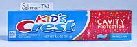 Crest Cavity Protection детская зубная паста из США