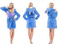 Махровый халат с капюшоном KIGU размер М