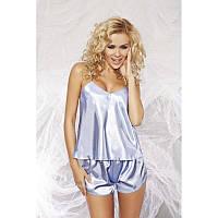 Комплект белья для сна Karen TM Dkaren (Польша) Цвет голубой