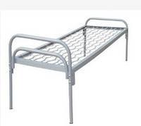 Кровать односпальная, металическая 190*90, спинка метал НОРМА