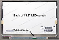 """13.3"""" WXGA 1280х800, Samsung LTN133AT15-G01, TFT, LED, m40-pin, глянцевая, slim, крепление - боковые планки"""