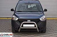 Кенгурятник Dacia Dokker 2013+ (WT006 нерж)