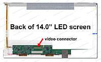 """14.0"""" WXGA HD 1366х768, BOE HB140WX1-200, TFT, LED, 40-pin (правый разьем), матовая"""