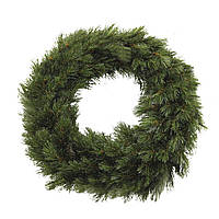 Венок декоративный новогодний Triumph Tree Forest frosted 45 см Зеленый (рождественский венок)