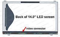 "14.0"" WXGA HD 1366х768, Samsung LTN140AT21-002, TFT, LED, 40-pin (левый разьем), матовая,  slim (без доп панел"