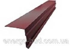 Торцева планка зі сталі з полімерним покриттям