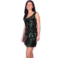 Платье для гангстерской вечеринки в блестящих пайетках