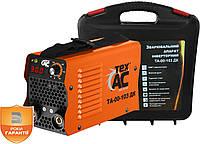 Сварочный инвертор TexAC 300 ТА-00-103ДК с дисплеем и кейсом, фото 1