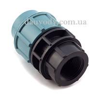 """Муфта с внутренней резьбой 20х1/2"""" для полиэтиленовых пнд труб (Santehplast)"""