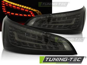 Диодные фонари LED тюнинг оптика Audi Q5 (08-12) тонированная
