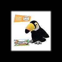 Мягкая говорящая игрушка Попугай Тукан