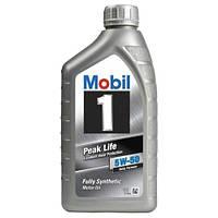 Mobil 1 Peak Life 5W50 (Франция) (1 л.)
