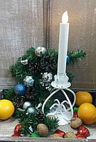 Подсвечник новогодний ПС-107 (под 1 свечу)