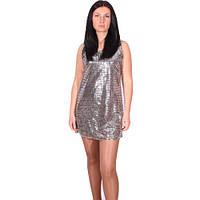 Блестящее платье в пайетках