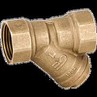 Фильтры сетчатые муфтовые латунные  GENEBRE В/В тип 3302