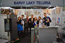 «Вартекс Украина» и «Barvy a Laky Teluria» на Международном Экспофоруме «СТРОИТЕЛЬСТВО, АРХИТЕКТУРА, НЕДВИЖИМОСТЬ»
