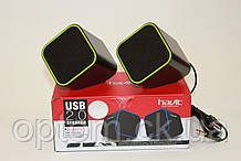 Колонки Havit HV-SK473 USB Green