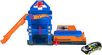 Hot Wheels Robo-Lift Speed Shop Playset Хот Вилс Автосервис.