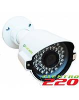 POE IP камера охранного видеонаблюдения COLARIX CAM-IOF-010p 1Мп, f3.6мм.