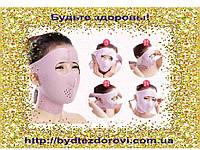 Бандаж-маска для коррекции овала лица(лоб,щеки, второй подбородок).