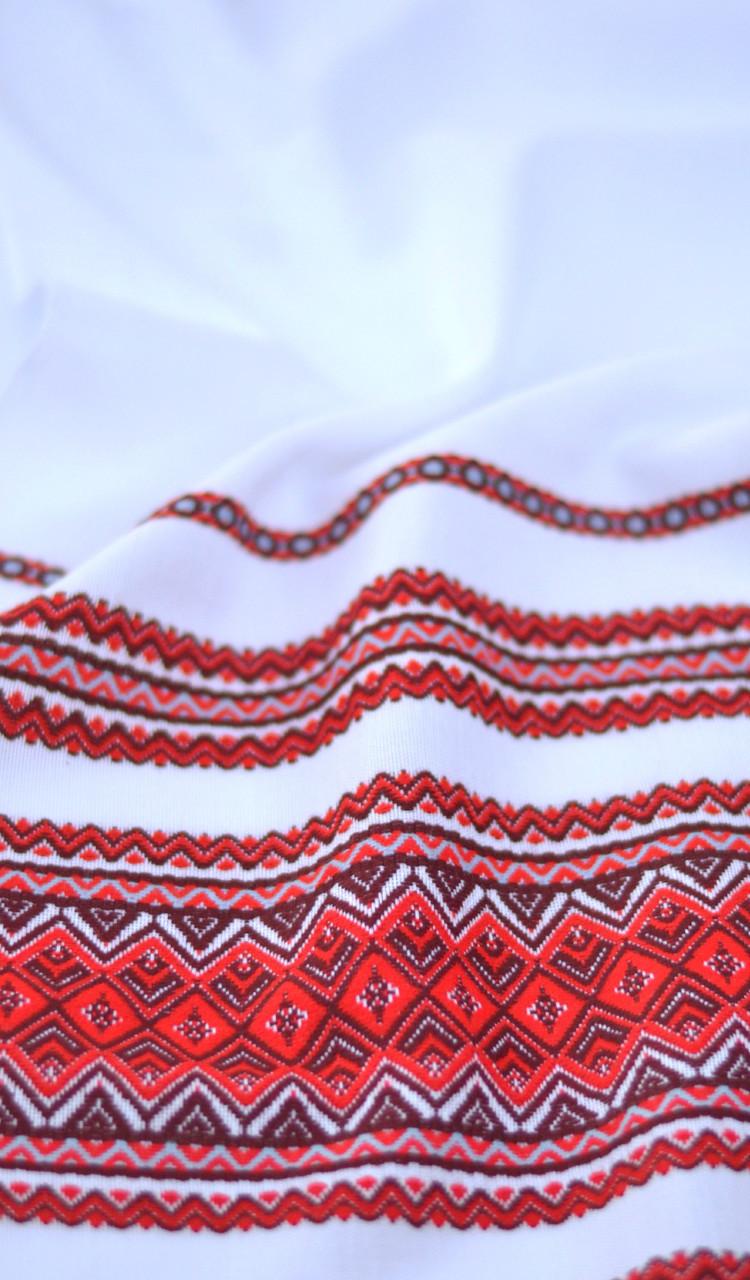 Ткань с украинской вышивкой Илона ТДК-72 2/3
