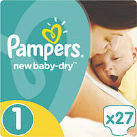 Подгузники Pampers New Baby Newborn 1 (2-5 кг) 27 шт.