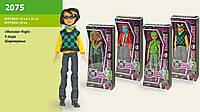 """Кукла """"Monster High"""" 4 вида, мальчики, шарнир, в кор.14*6*33см /96-2/"""