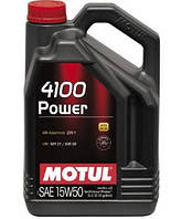 Масло моторное Motul MOTUL 4100 Power 15W-50 5L
