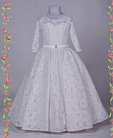 Кружевное нарядное детское платье Инесса