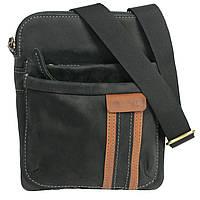 Сумка-планшет на плечо из натуральной кожи 21х19 см VATTO Mk-54Kr670.190 черный