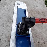 Гладилка канальная с поворотным механизмом и комплектом штанг ( 2 шт шо 3м)