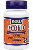 СПЕЦПРЕПАРАТЫ NOW COQ-10 100 MG 30 КАПСУЛ