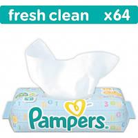 Влажные салфетки Pampers Baby Fresh Clean, 64 шт.