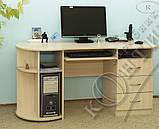 Стол компьютерный СКП–2 №11 (Континент) 1450х600х760мм, фото 4