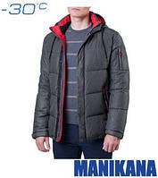 Зимняя куртка графит Manikana 17171